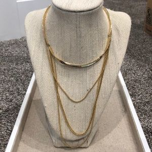 Stella and Dot Drape collar necklace